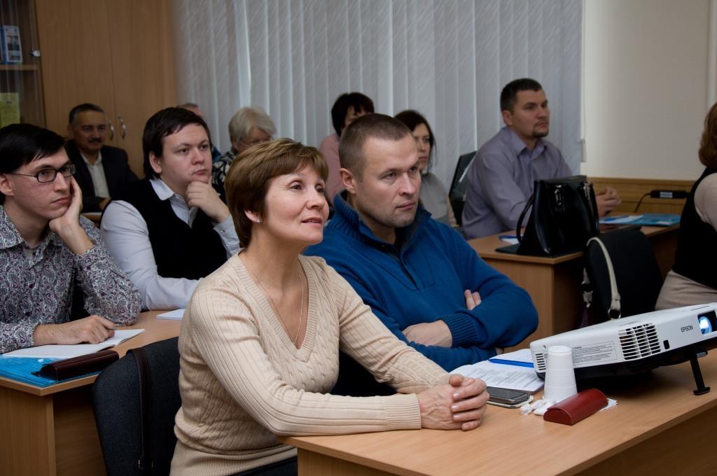 Слушатели программы «Энергосбережение  и повышение энергетической эффективности в ЖКХ и бюджетной сфере»